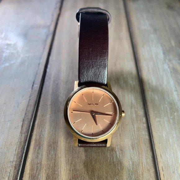 Nixon Accessories - Nixon Watch w/ Kenzi Leather (needs new battery)